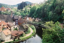 Czesky Krumlov, Czech Republic 2002